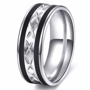 PREVIEW Stainless Steel Wedding Band Unisex Ring